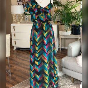 Dresses & Skirts - Open2offers⬇️ Designer Allen Schwartz  Maxi Dress